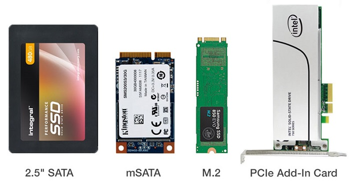 ssd vs hd nei differenti form factor