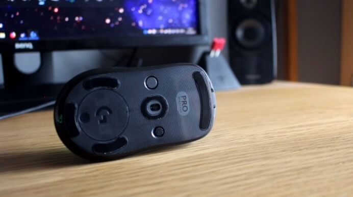 Logitech G Pro Wireless tasto dpi