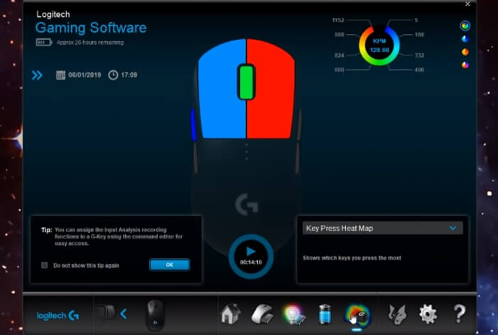 Logitech G Pro Wireless software 1