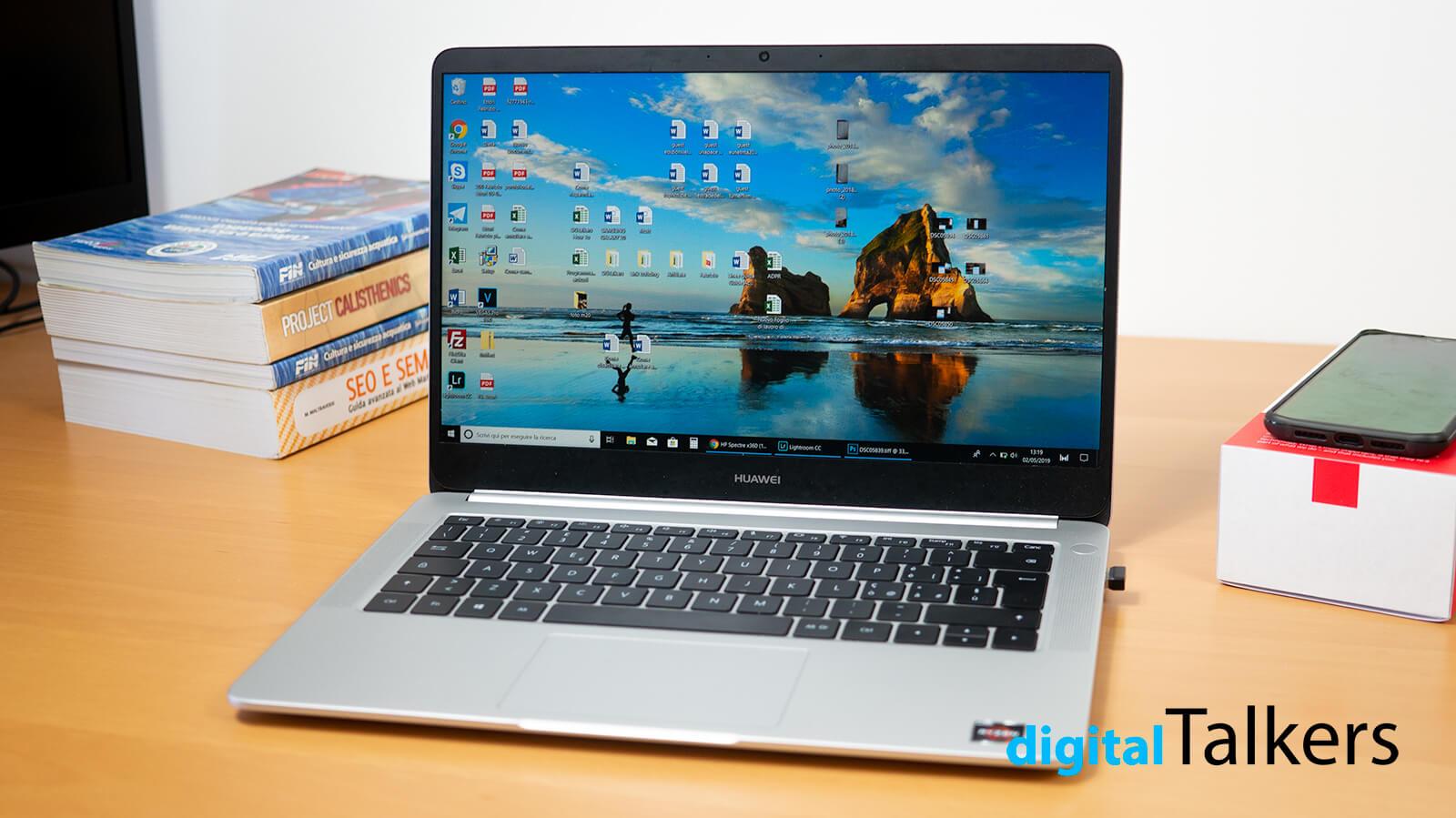 HUAWEI MateBook D recensione (Ryzen 5 2500U) | MigliorNotebook