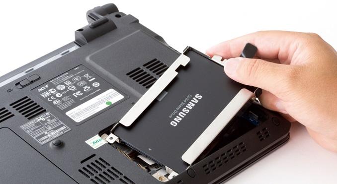 velocizzare portatile installando un ssd