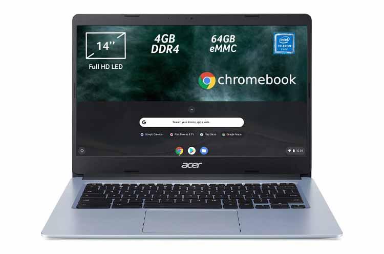 Acer Chromebook 314-1H, miglior PC portatile 300 euro Chrome OS