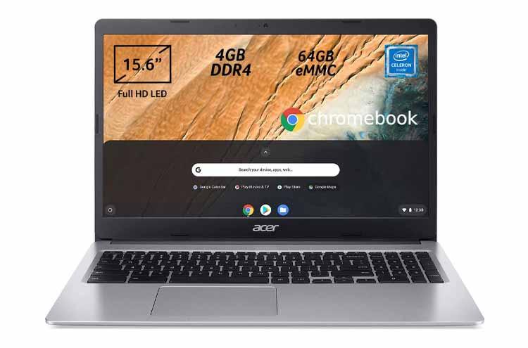 Acer Chromebook 315-3H, secondo computer portatile 300 euro Chrome OS